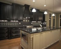 Finest Design Black Kitchen Cabinets Wallpapers | New ...