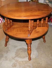 This is a very nice antique Mid Century Ethan Allen Lazy ...