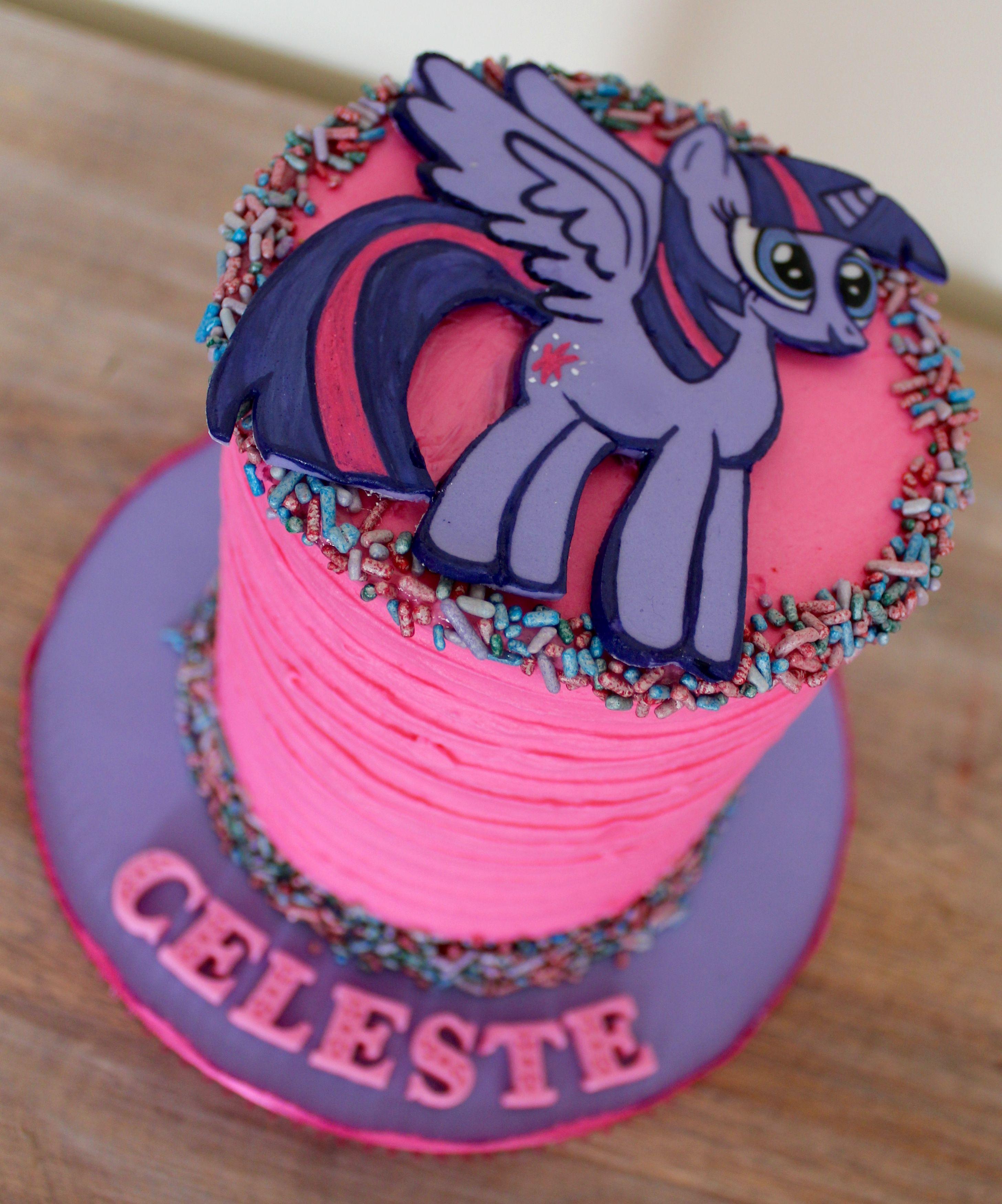 My Little Pony Mini Cake Smash Cake Twilight Sparkle