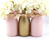 Pink and Gold Baby Shower Decorations First Birthday Party ...