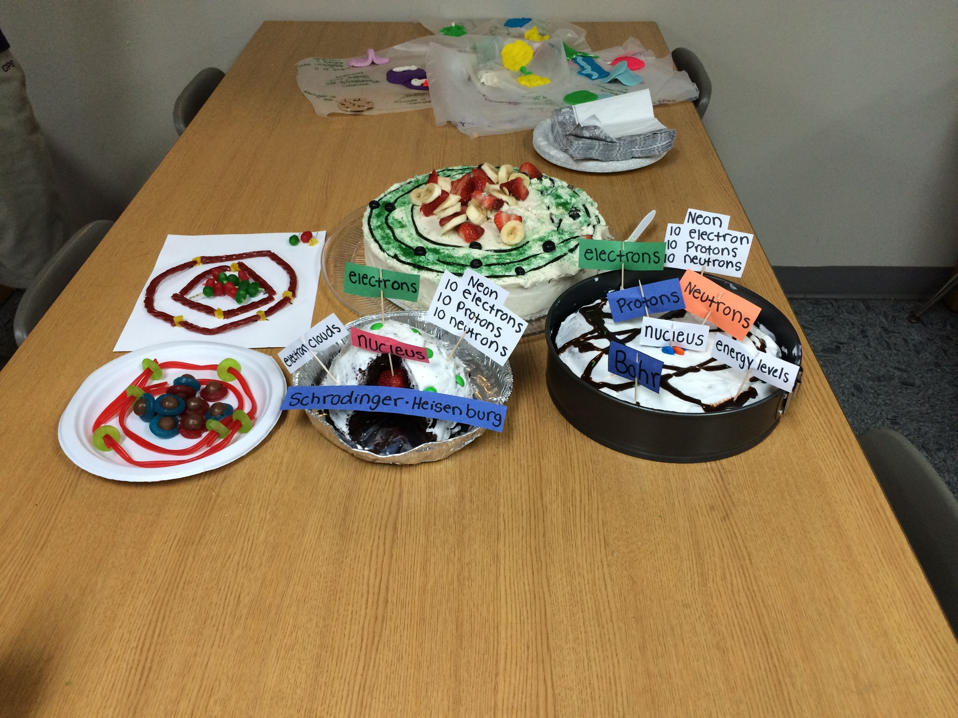 Atom Cakes