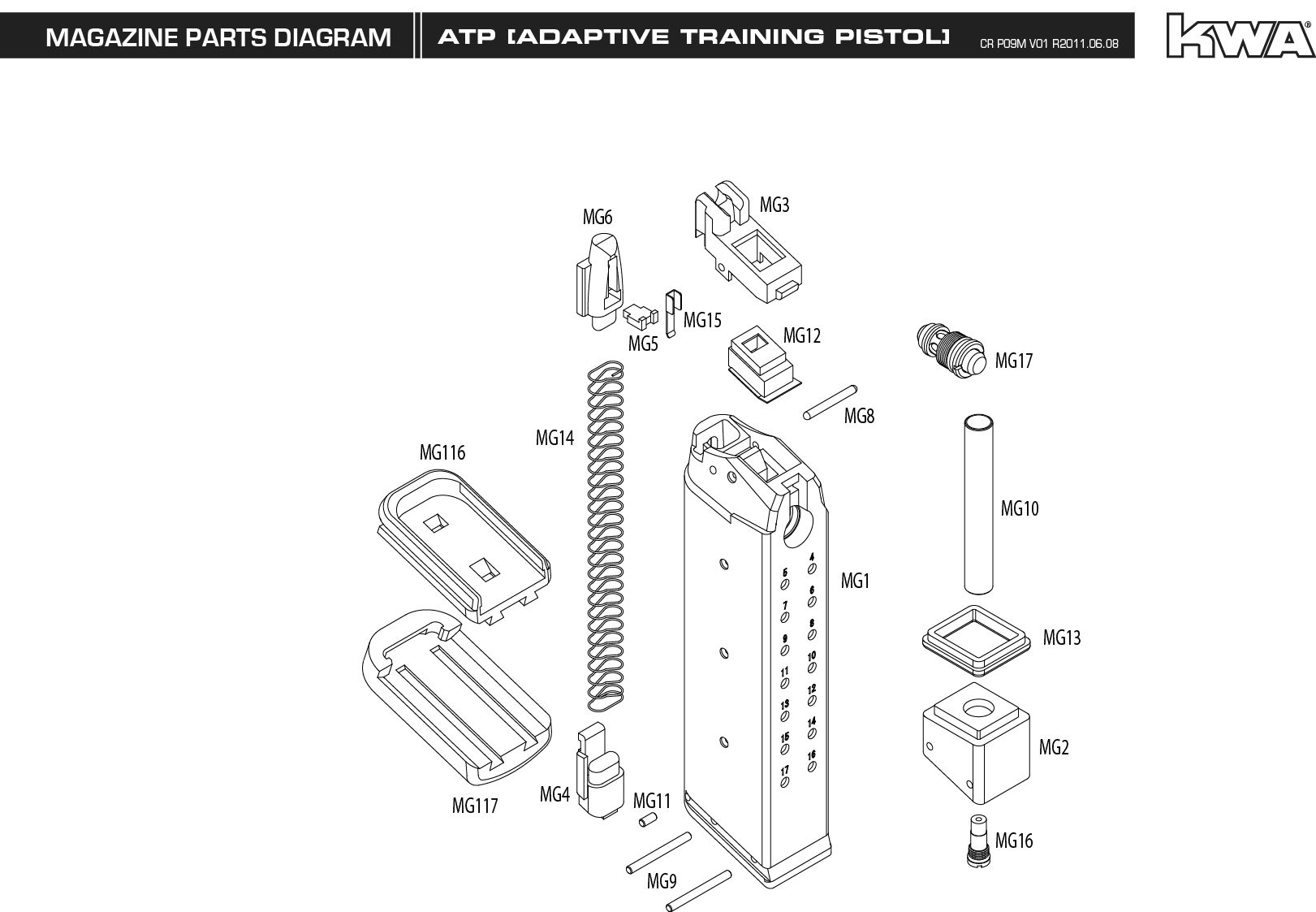 M Amp P 40 Diagram