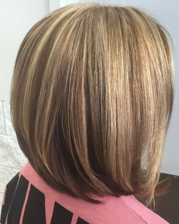 30 Bob Hairstyles With Blonde Highlights Lowlights Hairstyles