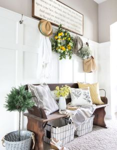 beautiful farmhouse decorating ideas for summer also country living rh pinterest