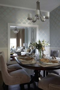 Contemporary Transitional French Country Dining Room ...