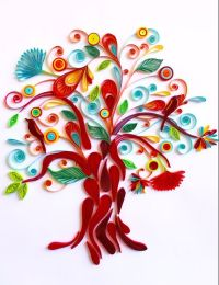 Tree of Life Custom Paper Quilled Wall Art for by ...