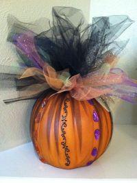 Halloween Pumpkin Decoration - Halloween Centerpiece ...