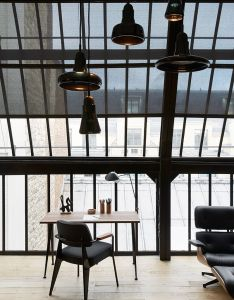 The focal point in this elegant apartment was black metal structure which is famous parisian architecture landmark from century also hotel du ministere en paris lofts interiors and industrial rh pinterest