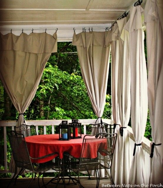 Best 25 Front porch curtains ideas on Pinterest  Front