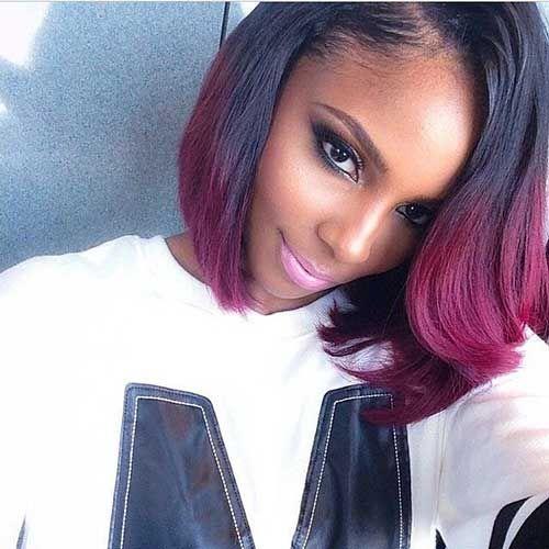 20 New Short Bob Haircuts For Black Women Bobs Pinterest