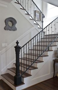 French Country Home Tour ~ Parade of Homes | Newel posts ...