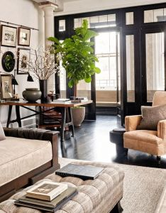 Meg ryan enlisted designer monique gibson and architect joel barkley to help her reimagine  new also take peek inside living rooms in actors  homes loft lighting rh pinterest