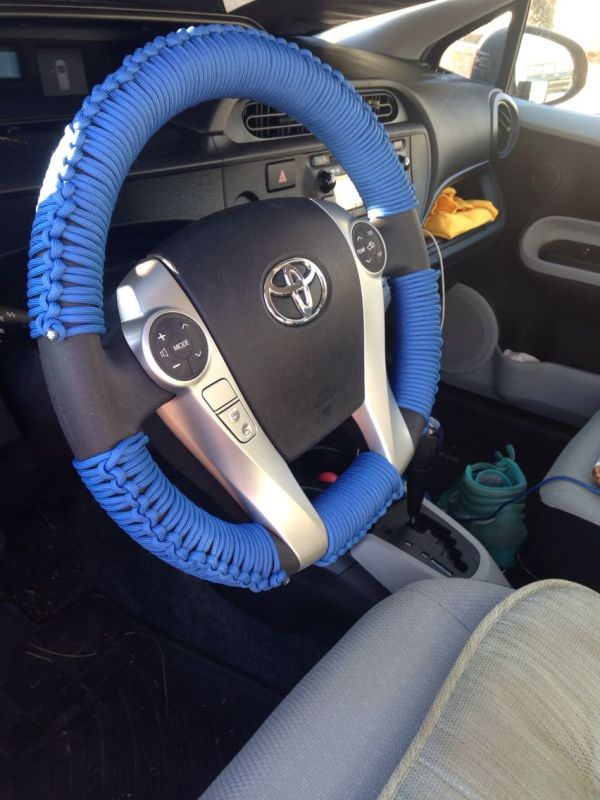 Paracord Steering Wheel Wrap Cover And