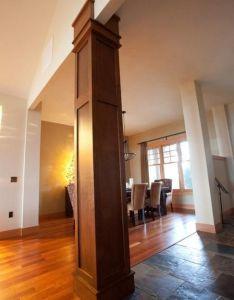 Colonnes et piliers dans la maison also wood projects foyers and salons rh pinterest
