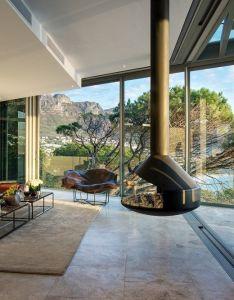 House also clifton  by saota fireplace pinterest interiors living rh