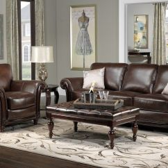 Living Room Leather Sofas Intex Inflatable Pull Out Sofa Review Color Schemes For Rooms With Brown