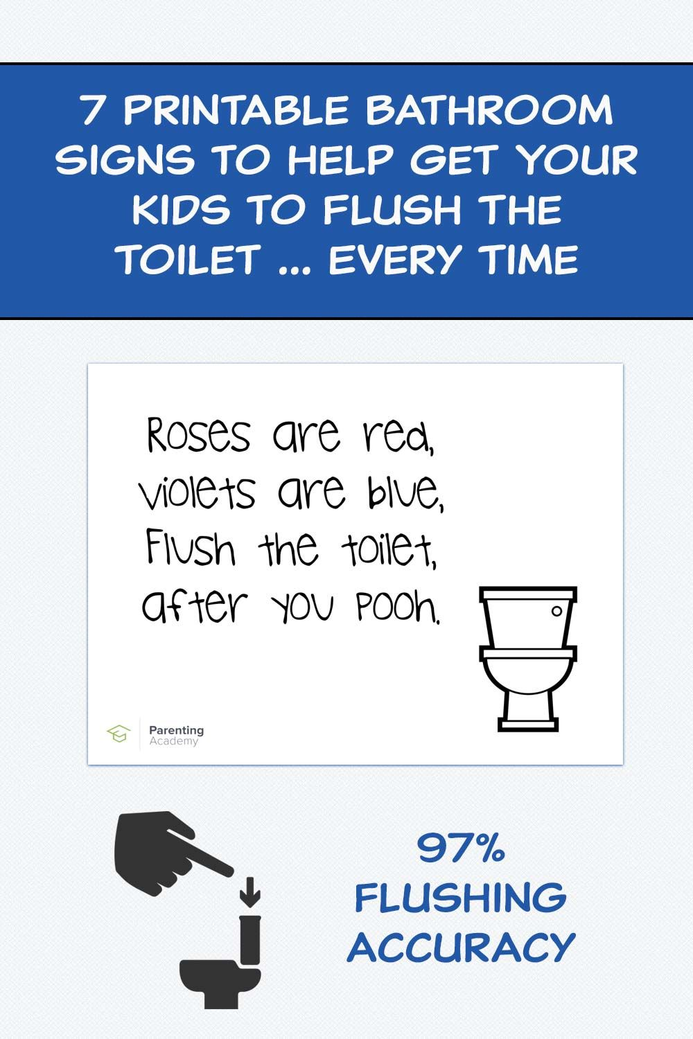 7 Printable Bathroom Signs To Help Get Your Kids To Flush