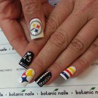 Pittsburgh Steelers by botanicnails #nail #nails #nailart ...