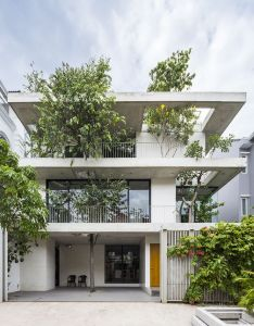 Galeria de casa dos jardins empilhados vtn architects also rh pinterest