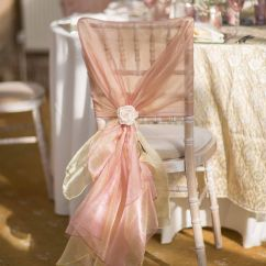 Christmas Wedding Chair Covers Furry Bean Bag A Limewash Chiavari With Hand Tied Dusky Pink And