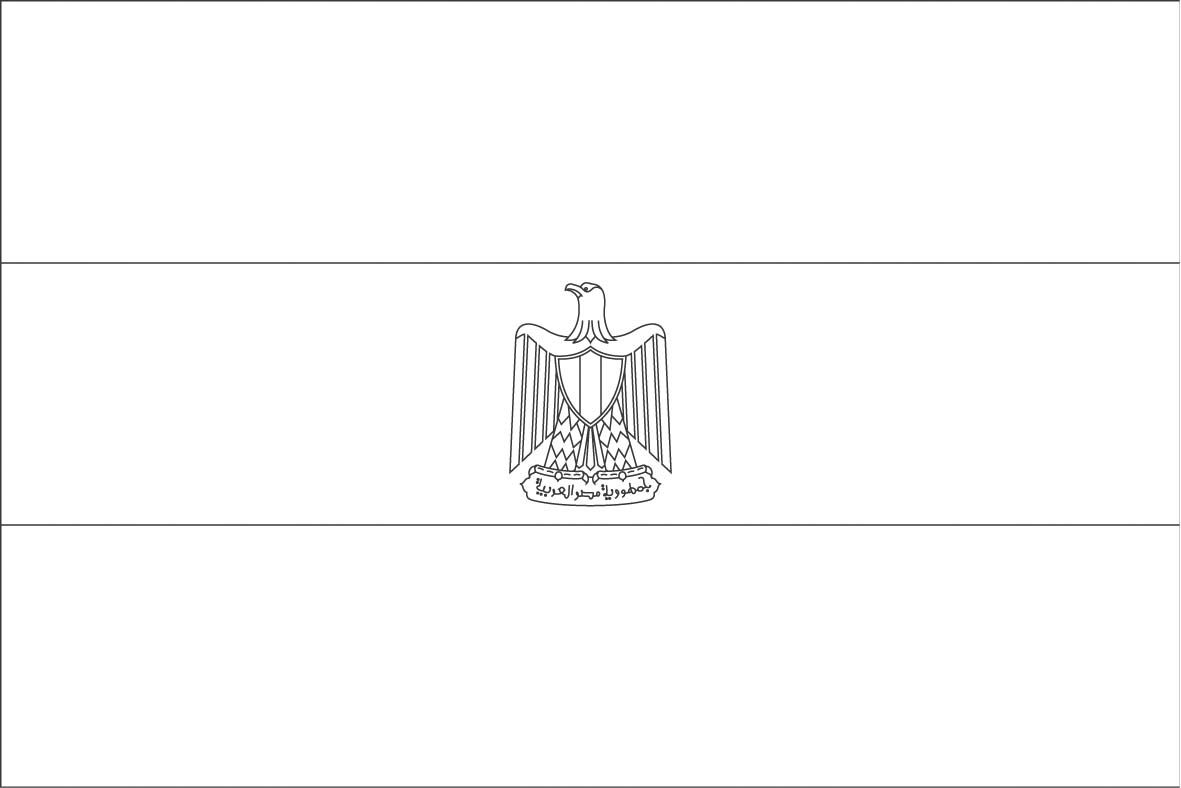 Egypt Flag Coloring Page Sonlight Core C Window On The World Sonlight