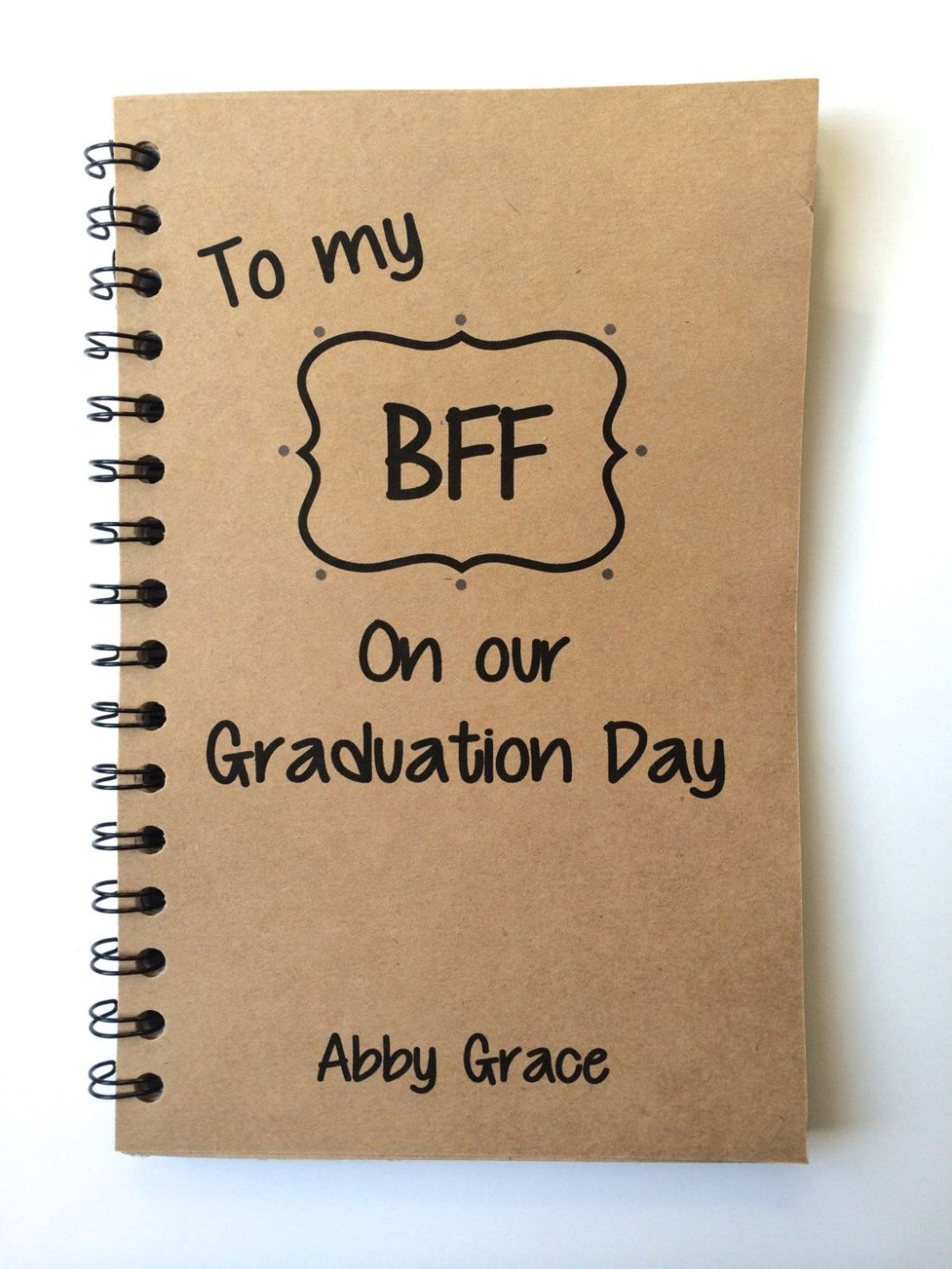 Best friend gift graduation gift bff class of 2015