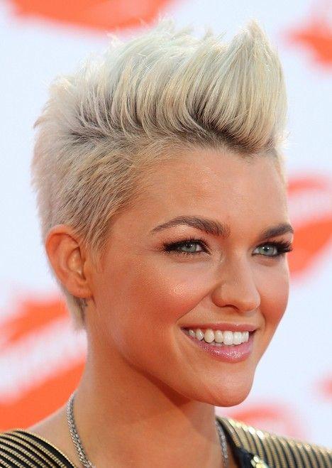16 Pompadour & Quiff Hairstyles For Women Pompadour Faux Hawk