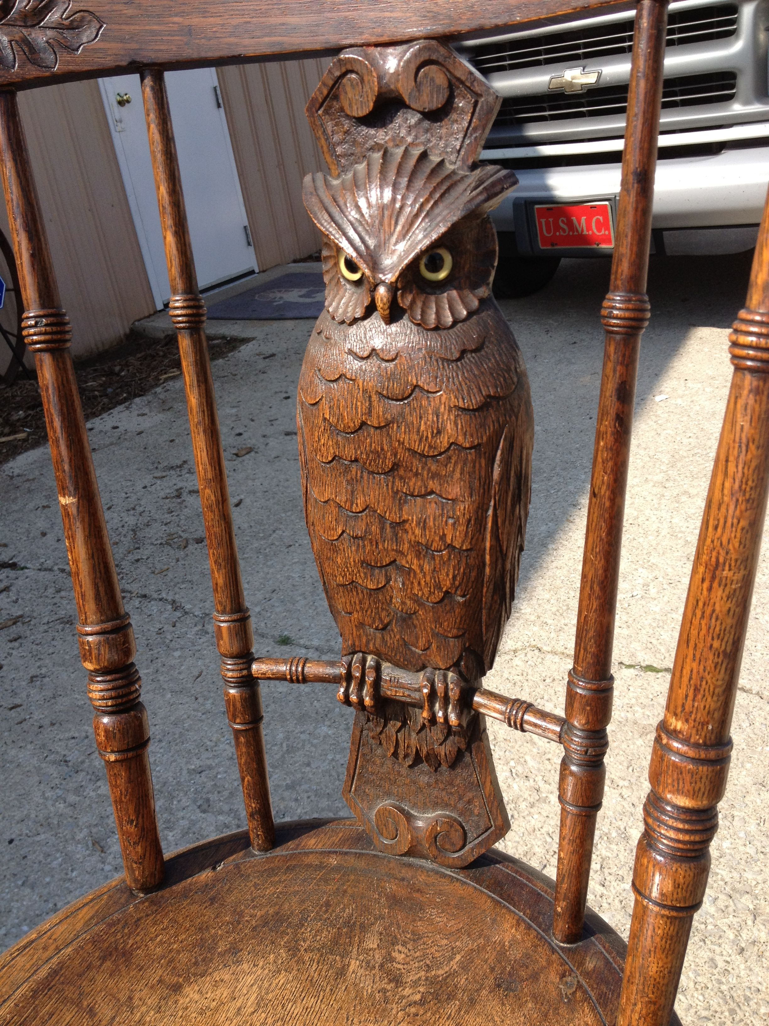 Owl Chair Vintage Owl Chair 3 Owl Always Love You Pinterest Vintage