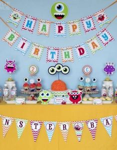 Birthday party ideas also monster bash monsters rh pinterest