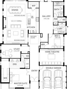 The new hampton four bed style home design plunkett homes hamptons bedroomshamptons decorhouse plansmansion floor also rh au pinterest