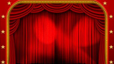 The Grand D Is Main And Front Curtain Mainly To Cover Sets
