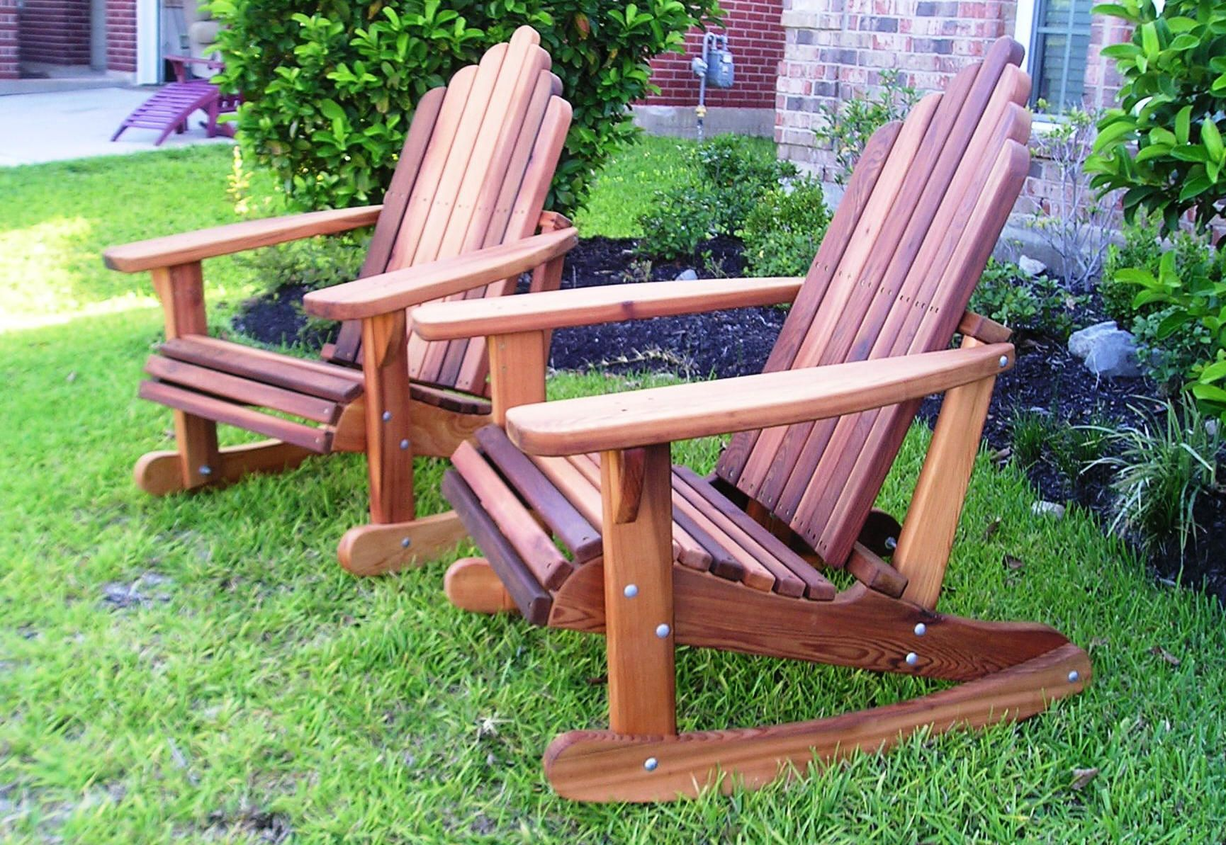 fire pit and adirondack chairs high wooden hand made cedar porch swings