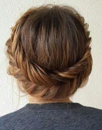 60 Trendiest Updos for Medium Length Hair | Updo, Hair ...