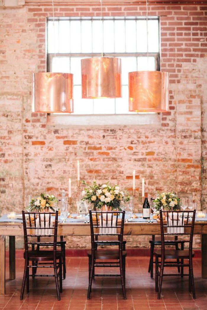 งานแต่ง สไตล์ รัสติค Rustic Urban Industrial Style Wedding