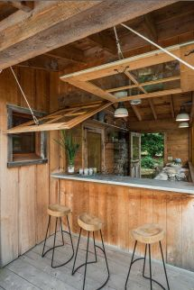 Rustic Outdoor Bar Designs