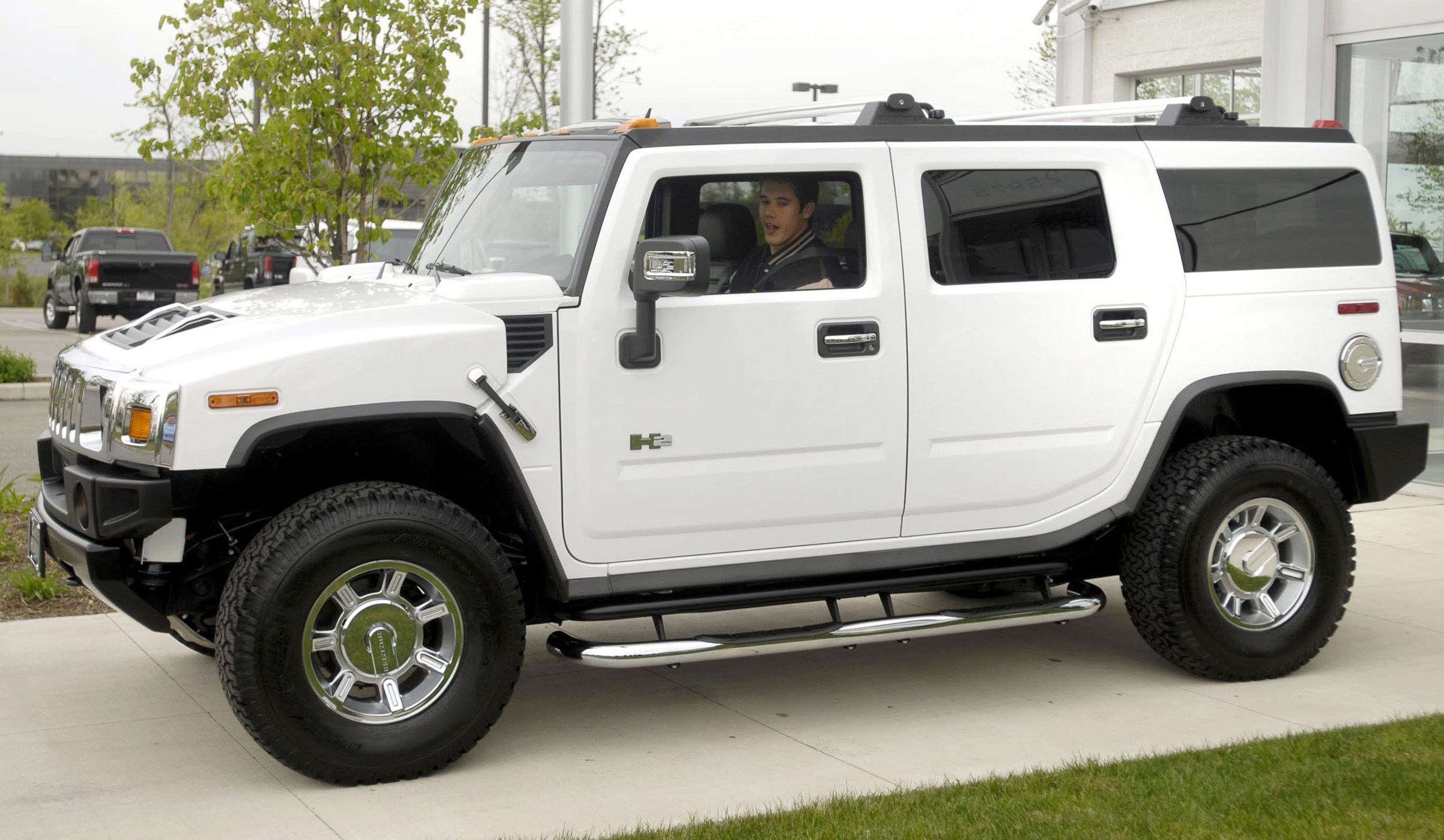 In my 5th grade year book I put that I d have a Hummer ways