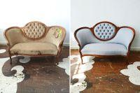 Reupholster Antique Sofa  TheSofa