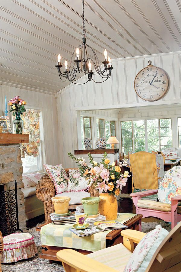 Need A Living Room Makeover? Cottage Style Living Room