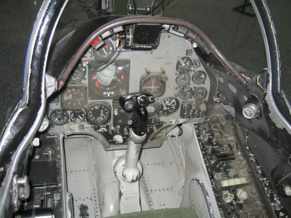 A 4 Skyhawk Trainer Cockpit - Year of Clean Water