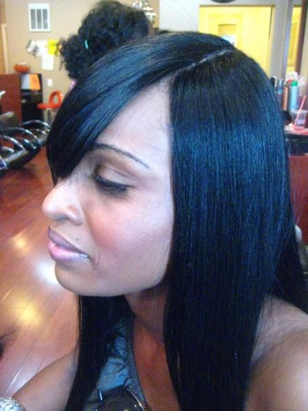 Invisible Part Sew In Weave HairstylesDownload Full HD Wallpaper