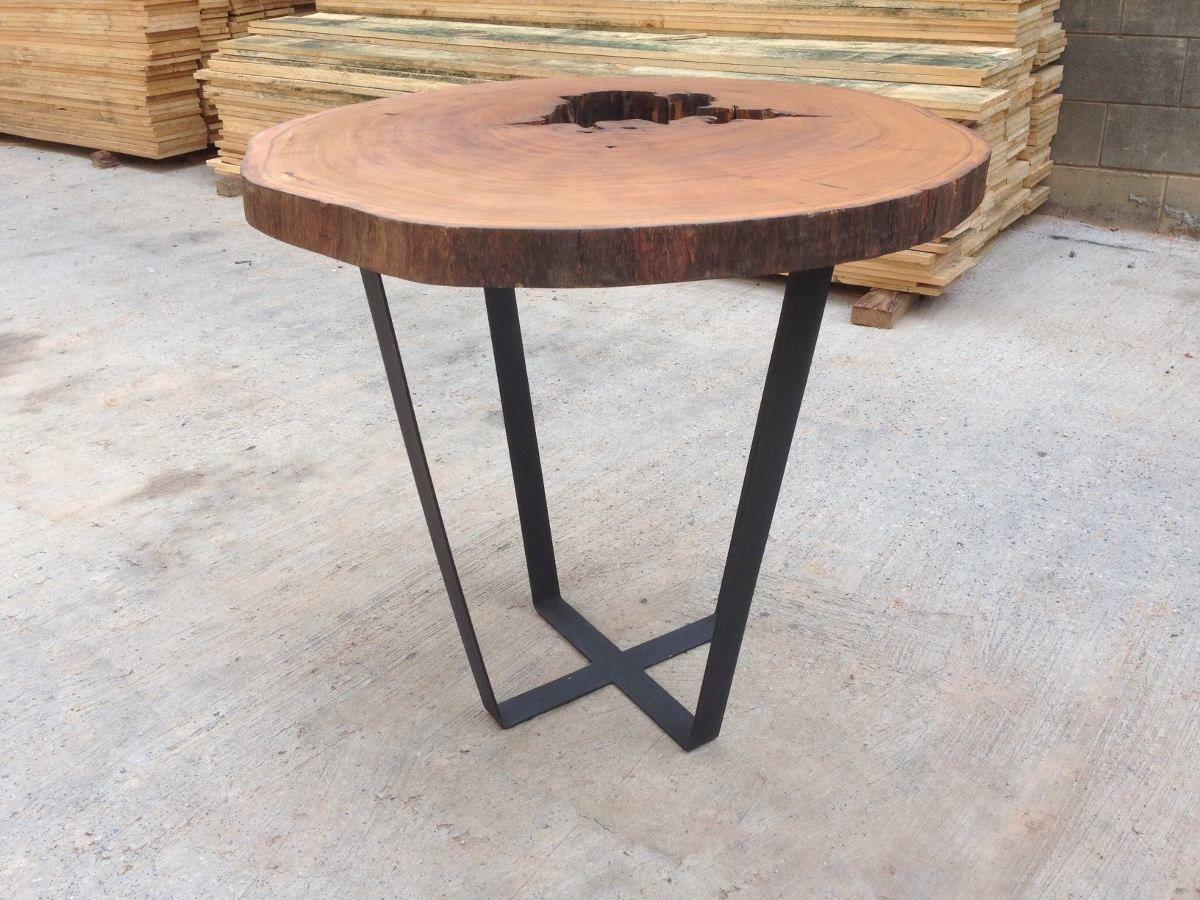 mesa redonda rustica de madeira  Pesquisa Google