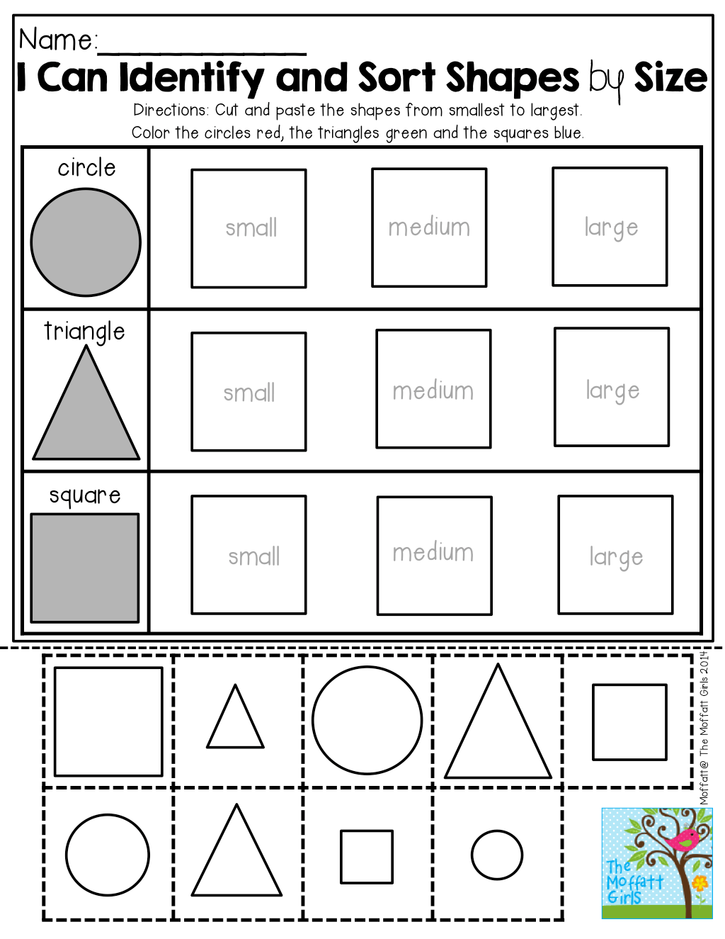 Aba Pattern Worksheet Cut And Paste