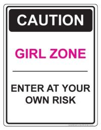 inspirational signs for girls rooms | girl zone door sign ...