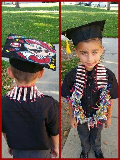 Diy Kindergarten Graduation Lei