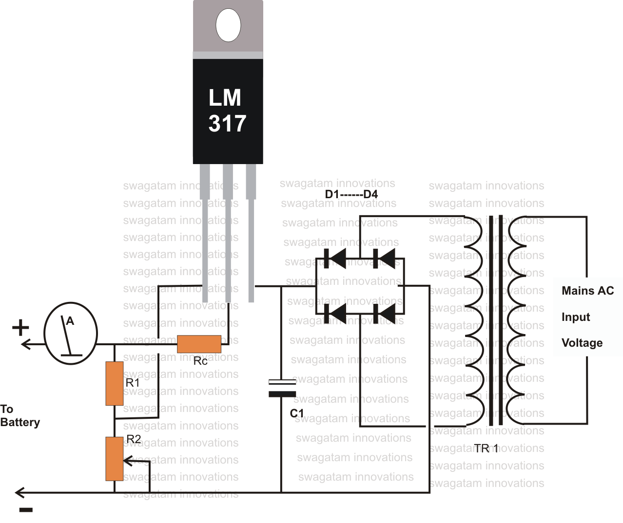Battery Usb Power Schematic