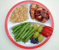 Dinner Plate With Healthy Food | www.pixshark.com - Images ...