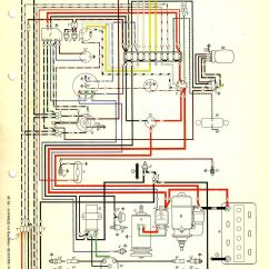 Vw Beetle Wiring Diagram Guitar Jack 1967 Usa Thegoldenbug Best