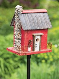DIY Birdhouse - Green Birdhouse - Birdhouse Kit - Bird ...
