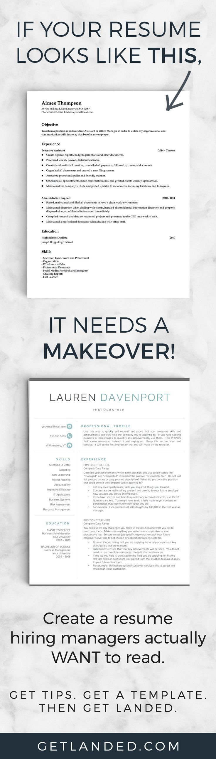 80 of candidates desperately need a resume makeover Get a resume makeover today with a resume