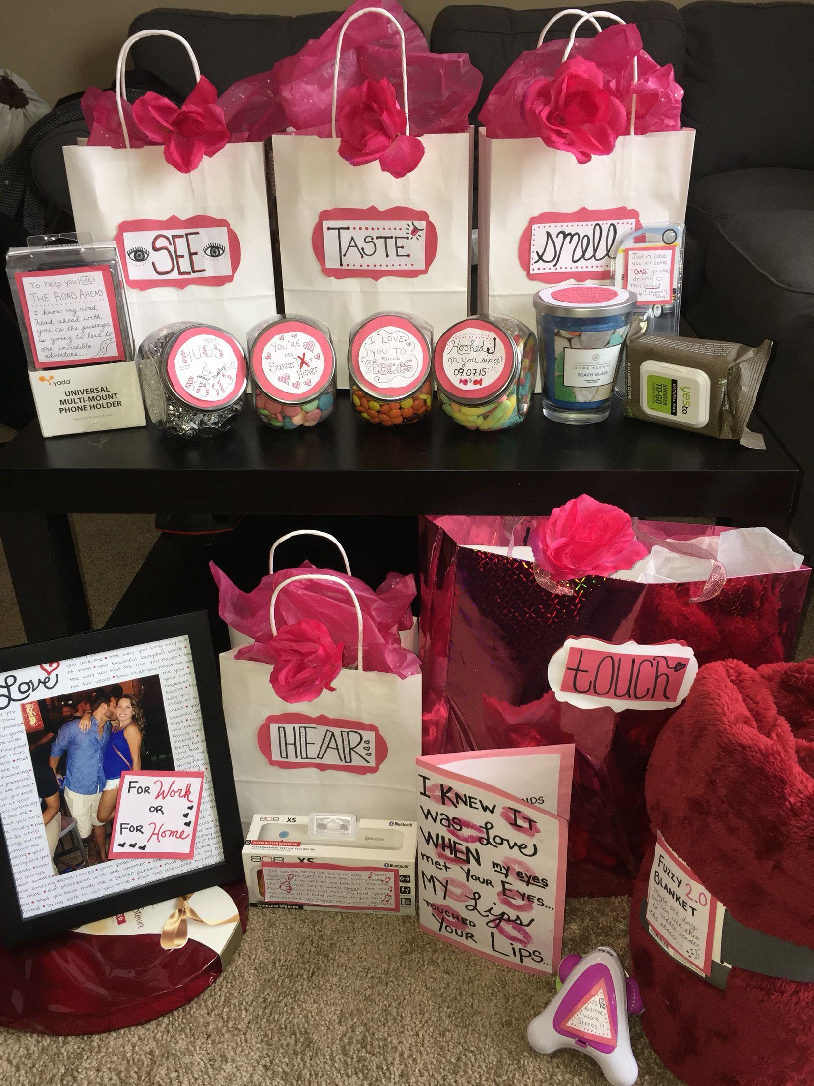 5 Senses Valentines Gift Him